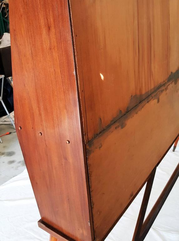 Mid-Century Walnut Case Piece or Headboard, style of Ico Parisi 10