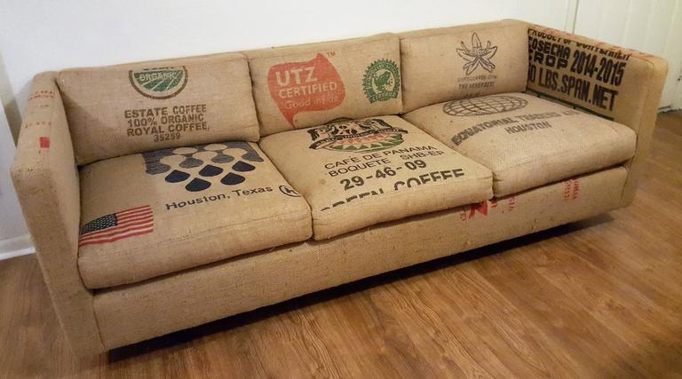 Perfect Sofa For A Casually Fun Room! Burlap Or Jute Has In Use Since The