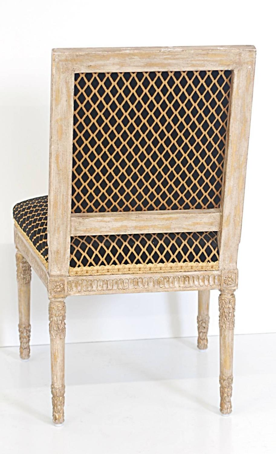 Set of eight louis xvi style chairs at 1stdibs for Z furniture philadelphia