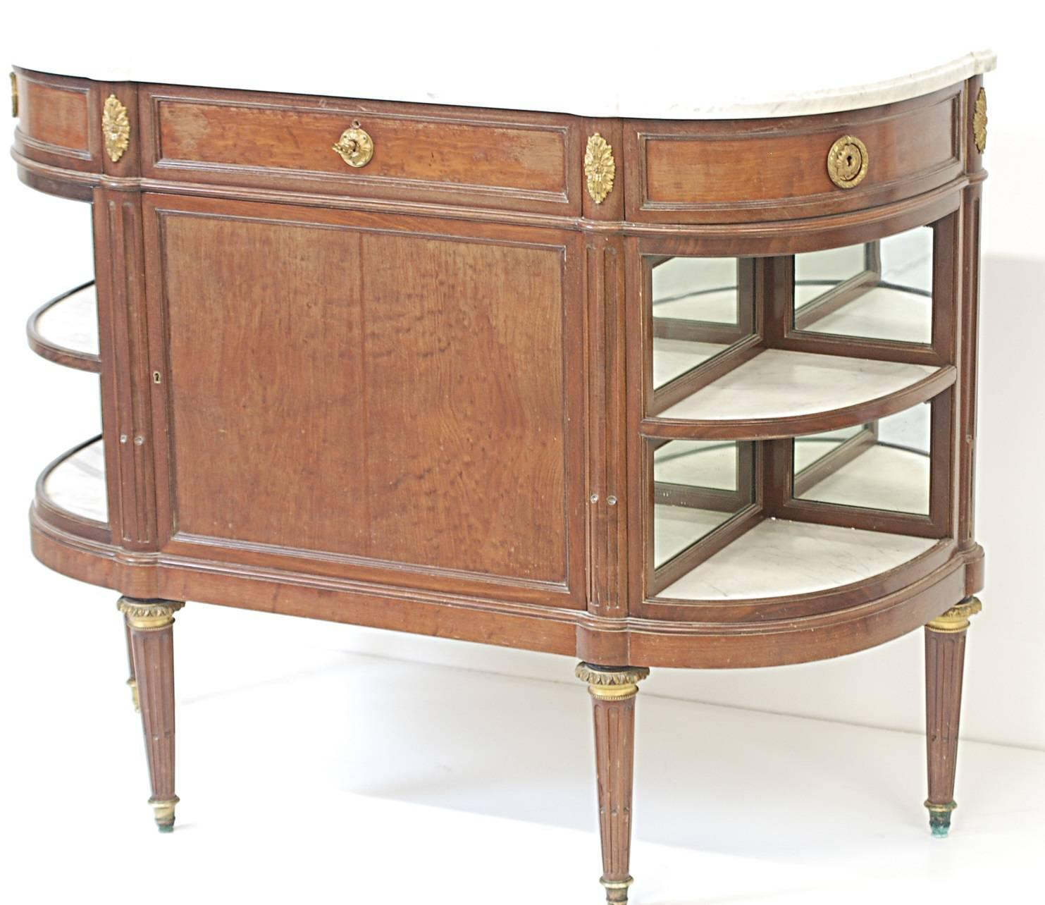 Marble top dressette by maison jansen at 1stdibs for Z furniture philadelphia