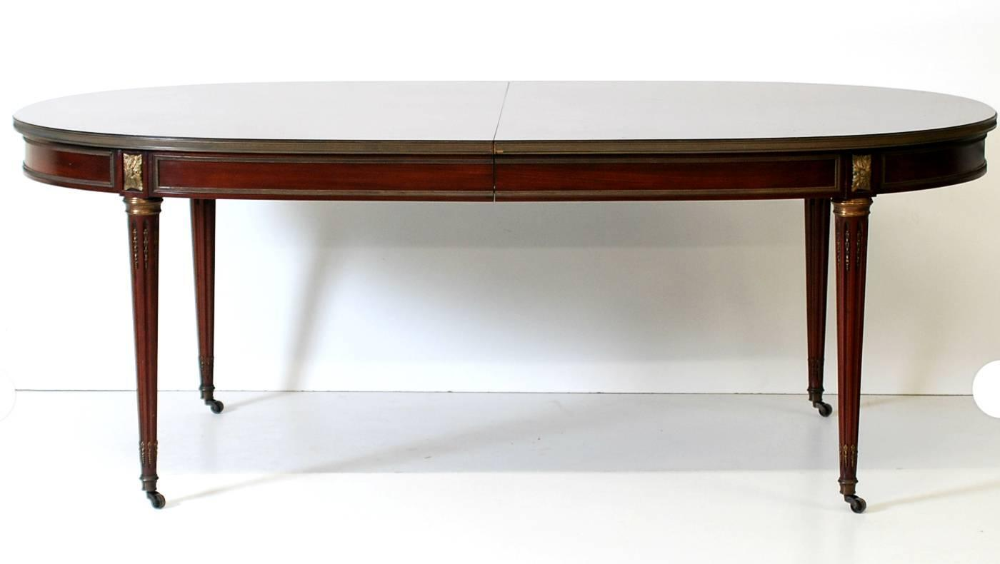 Maison Jansen Louis Xvi Style Dining Room Table At 1stdibs