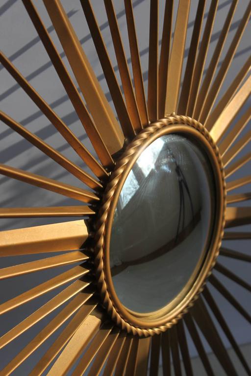 Chaty vallauris sunburst mirror at 1stdibs for Chaty vallauris miroir