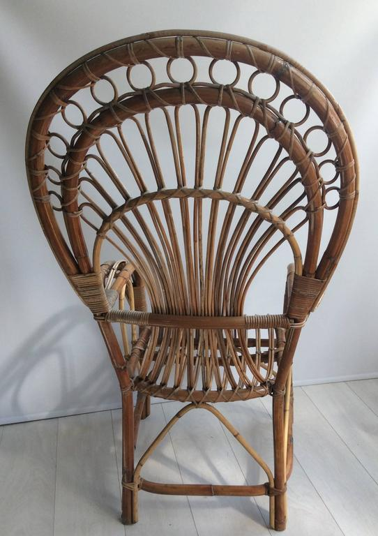 Iconic Rattan Peacock Chair, 1970s 4