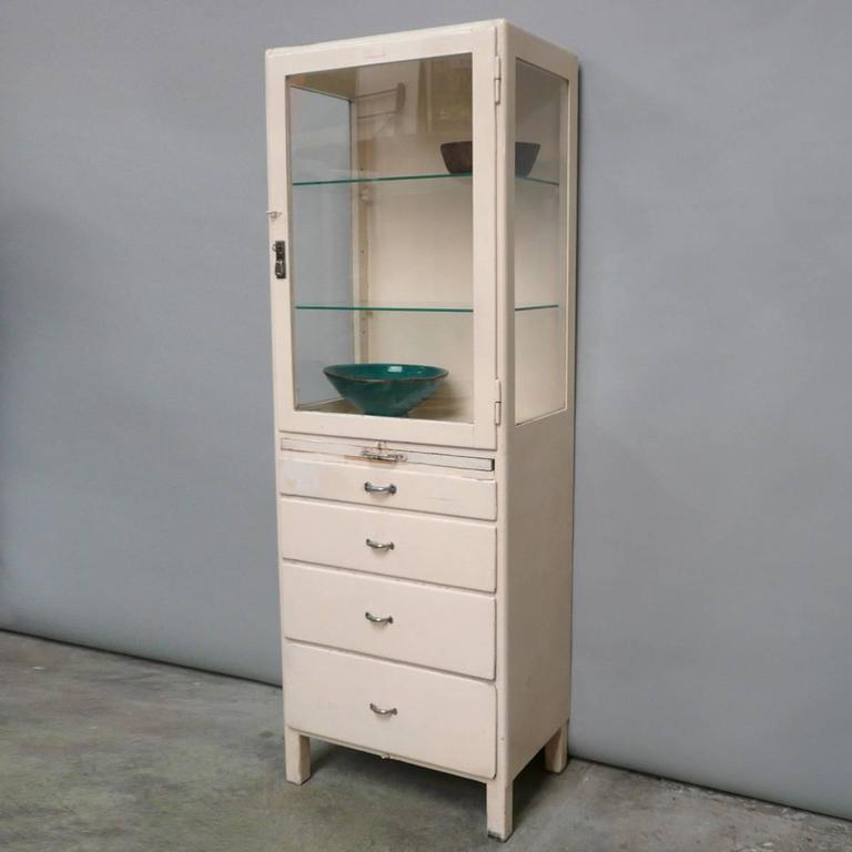 Vintage Medical Cabinet, 1940s at 1stdibs