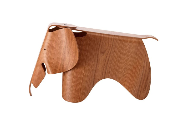 Mid-Century Modern Ray and Charles Eames Plywood Elephant in Cherry by Vitra For Sale