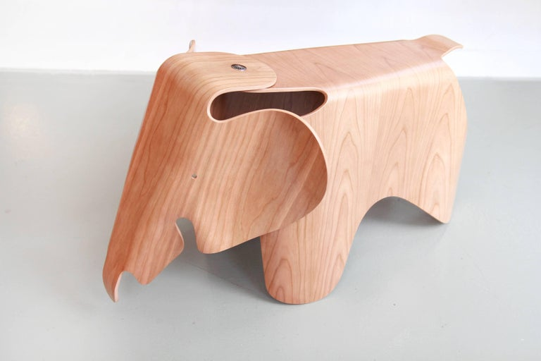 American Ray and Charles Eames Plywood Elephant in Cherry by Vitra For Sale