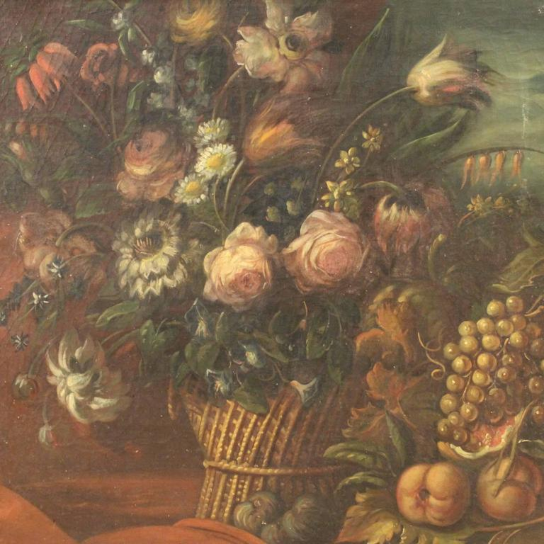 19th Century French Still Life Painting In Good Condition For Sale In Vicoforte, Piedmont