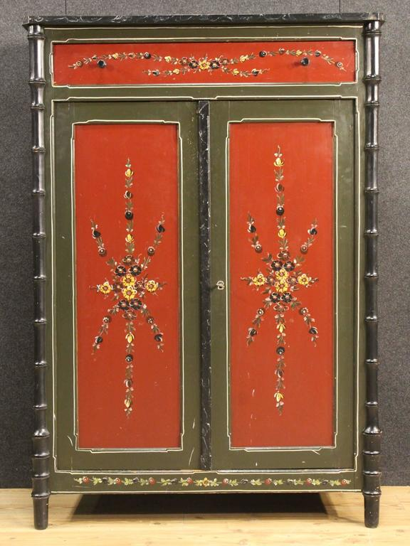 20th Century Dutch Hand Painted Cabinet For Sale At 1stdibs