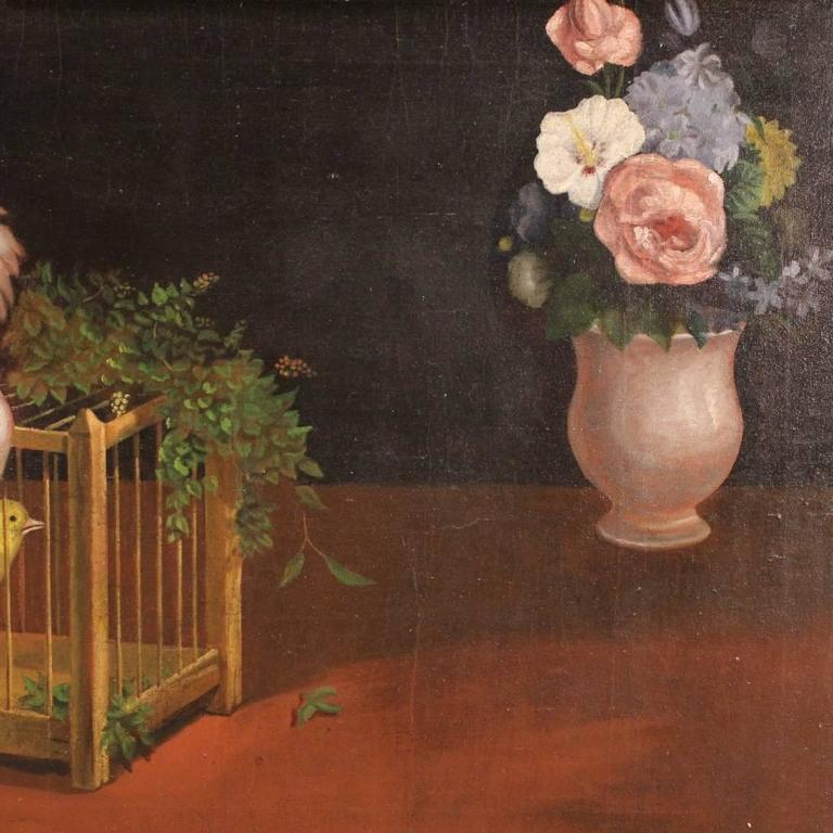 20th Century Dutch Still Life Painting In Good Condition For Sale In Vicoforte, Piedmont