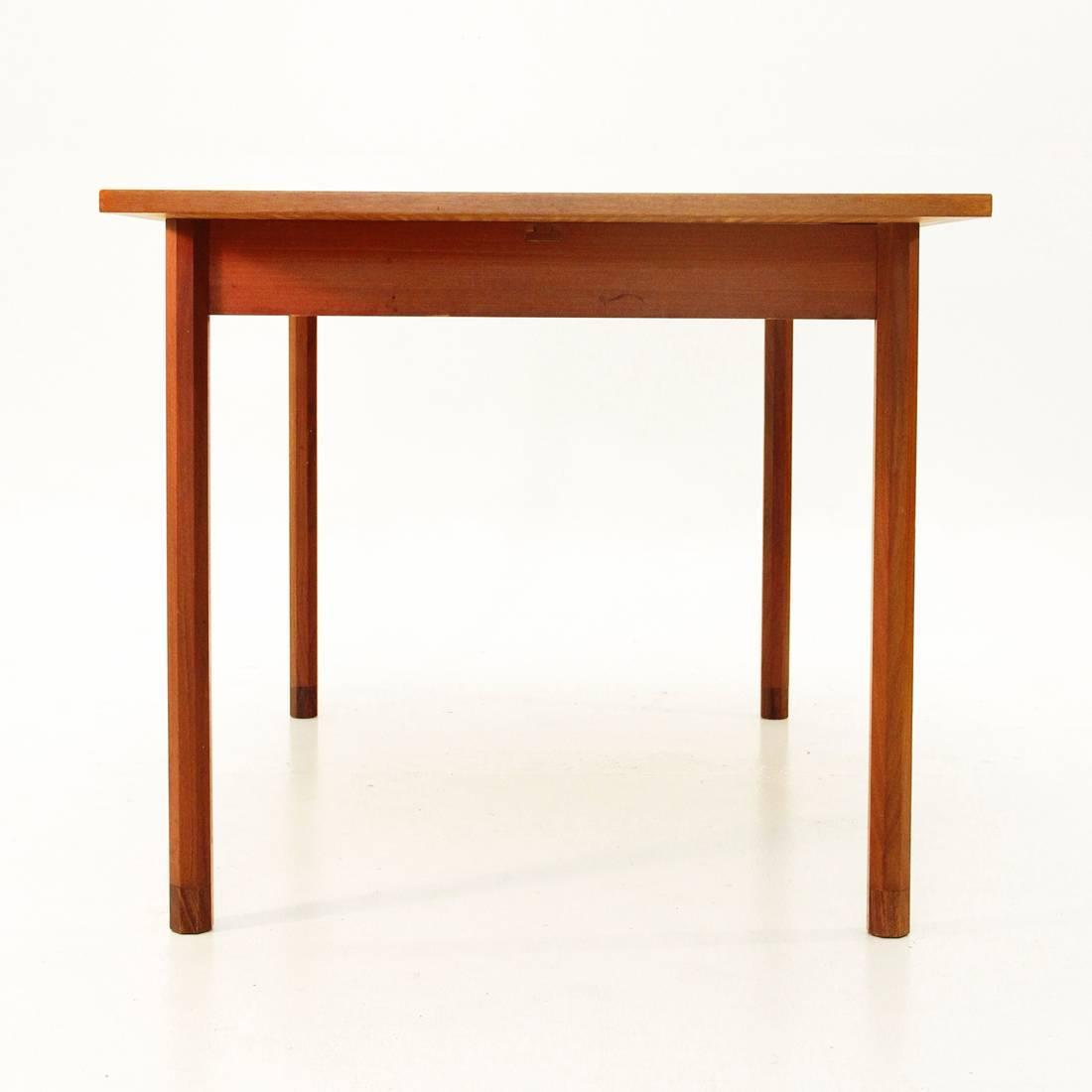 Italian rosewood extensible table 1960s for sale at 1stdibs - Petite table extensible ...