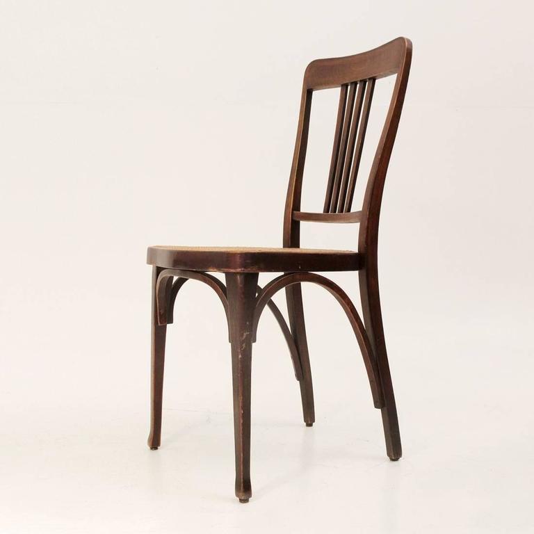 mod 675 art nouveau chair by thonet 1900 set of 14 at 1stdibs. Black Bedroom Furniture Sets. Home Design Ideas
