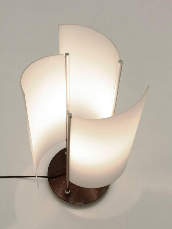 Arianna Table Lamp By Bruno Gecchelin For Oluce 1978 At 1stdibs