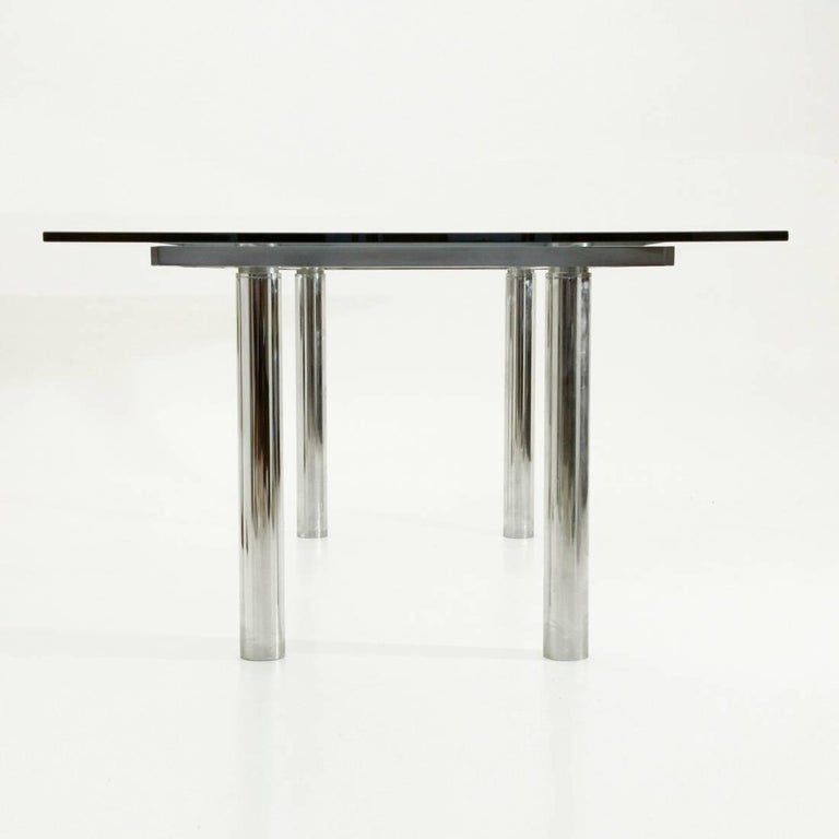 Andrè Rectangular Dining Table by Tobia Scarpa for Gavina/Knoll In Good Condition For Sale In Savona, IT