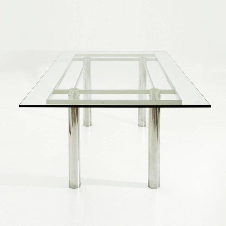 Mid-Century Modern Andrè Rectangular Dining Table by Tobia Scarpa for Gavina/Knoll For Sale