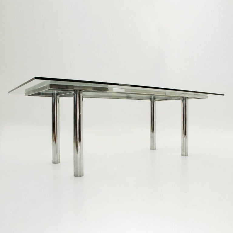 Italian Andrè Rectangular Dining Table by Tobia Scarpa for Gavina/Knoll For Sale