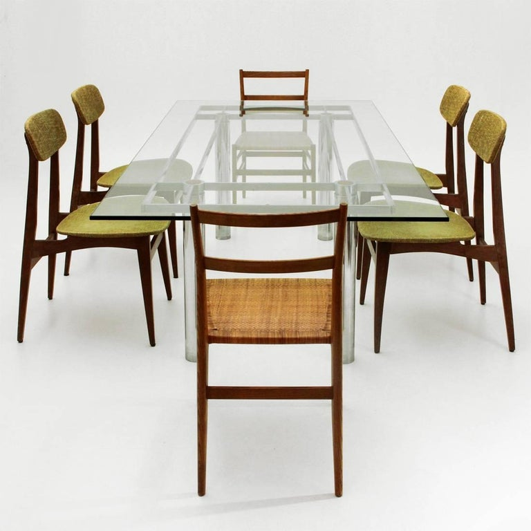 Andrè Rectangular Dining Table by Tobia Scarpa for Gavina/Knoll 9