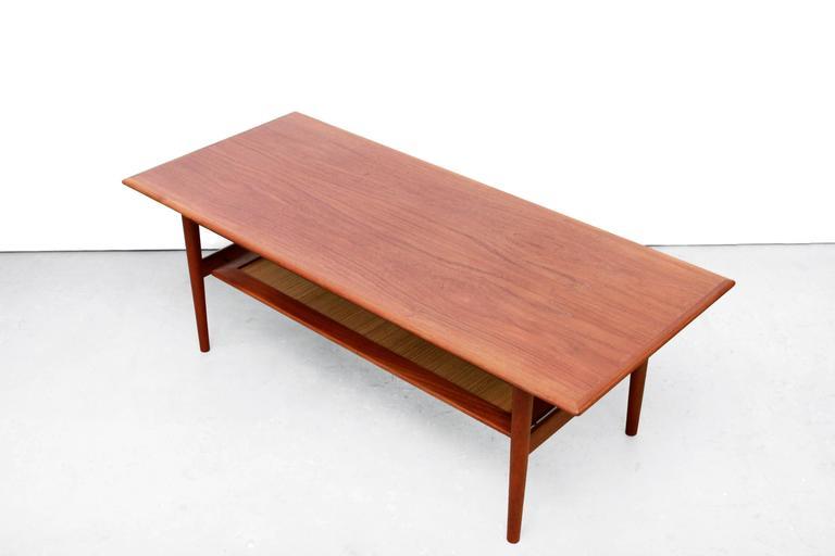 Teak Coffee Table by Peter Hvidt & Orla Mølgaard Nielsen, 1950s 3