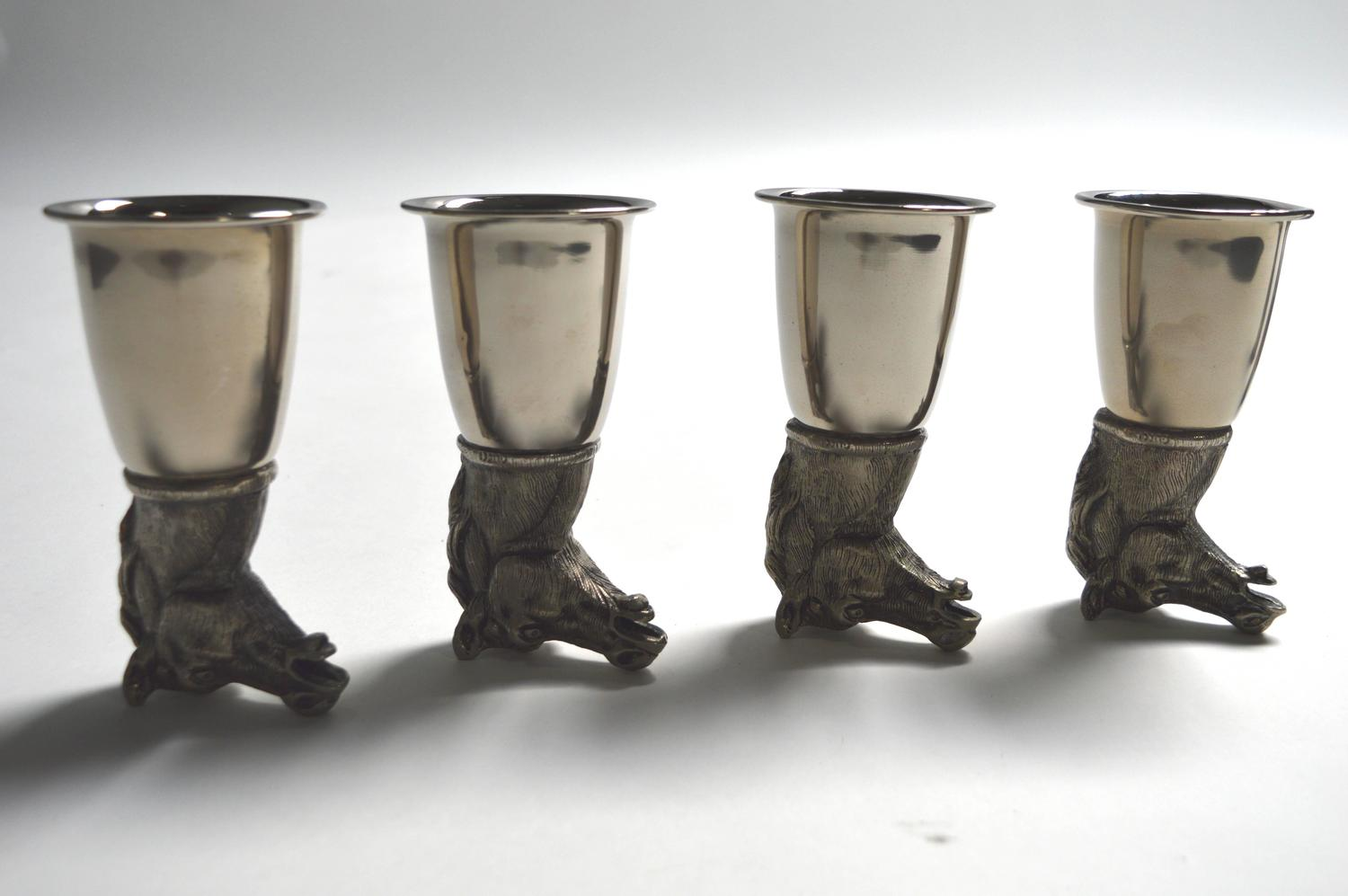 Set of Eight Gucci Stirrup Cups For Sale at 1stdibs