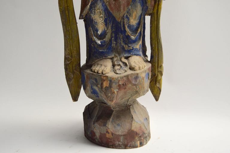 Polychrome Buddha Sculpture 3