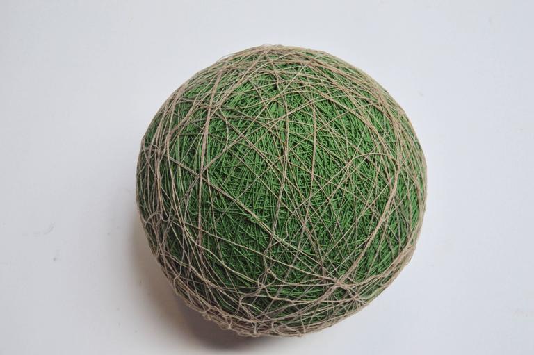 Late 20th Century Massive Yarn Ball Stool For Sale