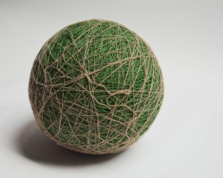 American Massive Yarn Ball Stool For Sale