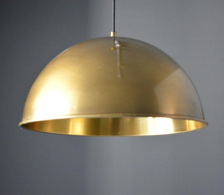 Florian Schulz Dome Counter Balance Pendant In Excellent Condition For Sale In Los Angeles, CA