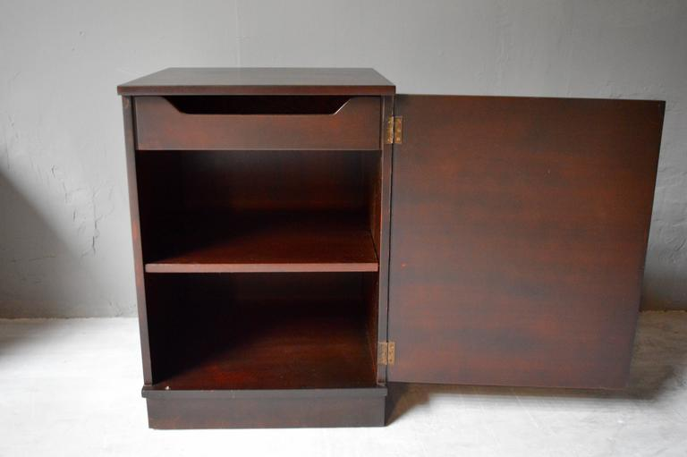 Leather Dunbar Nightstands For Sale
