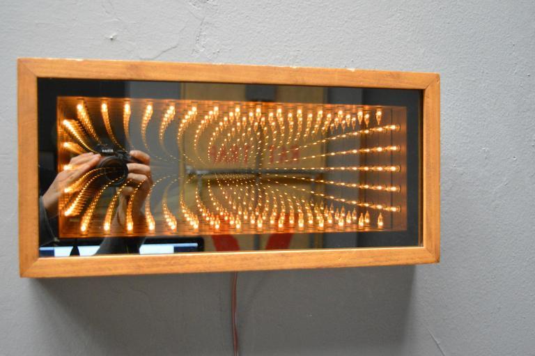 Vintage Infinity Mirror At 1stdibs