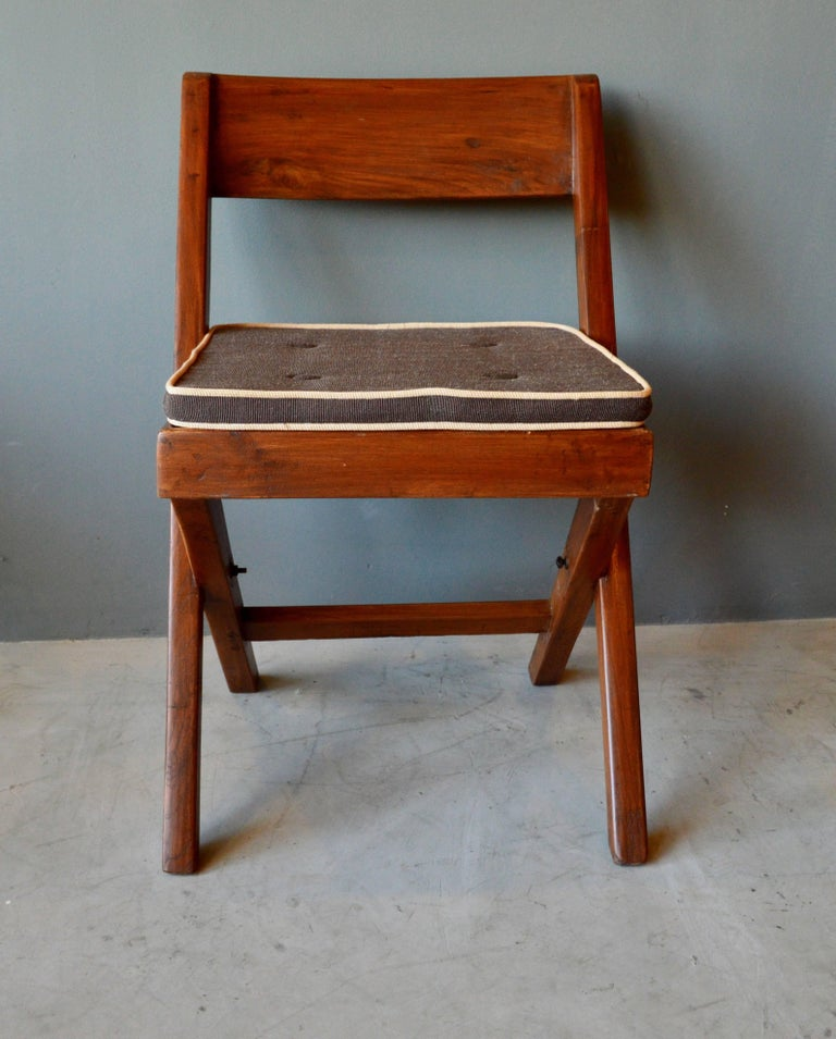 Cane Pierre Jeanneret Library Chair