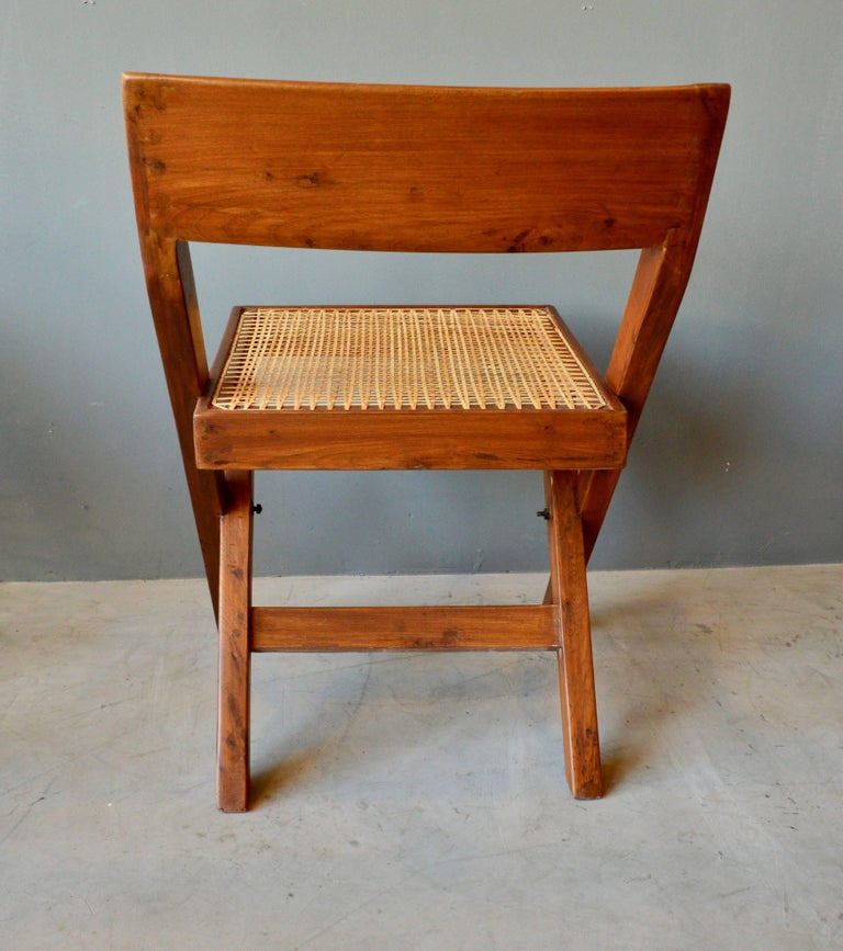 Pierre Jeanneret Library Chair 1