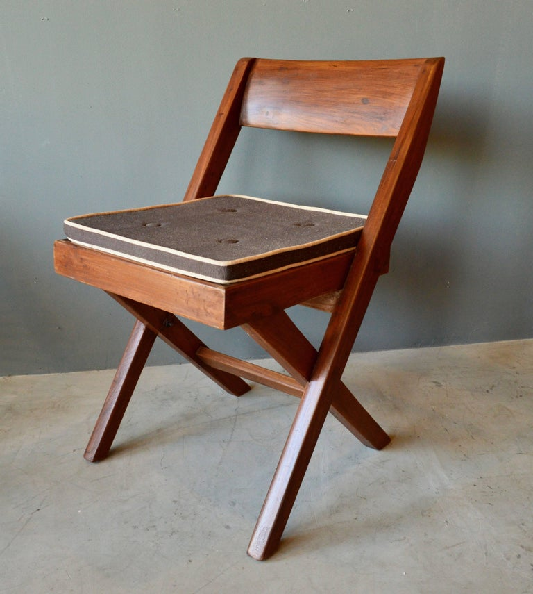 Pierre Jeanneret Library Chair In Excellent Condition In Los Angeles, CA