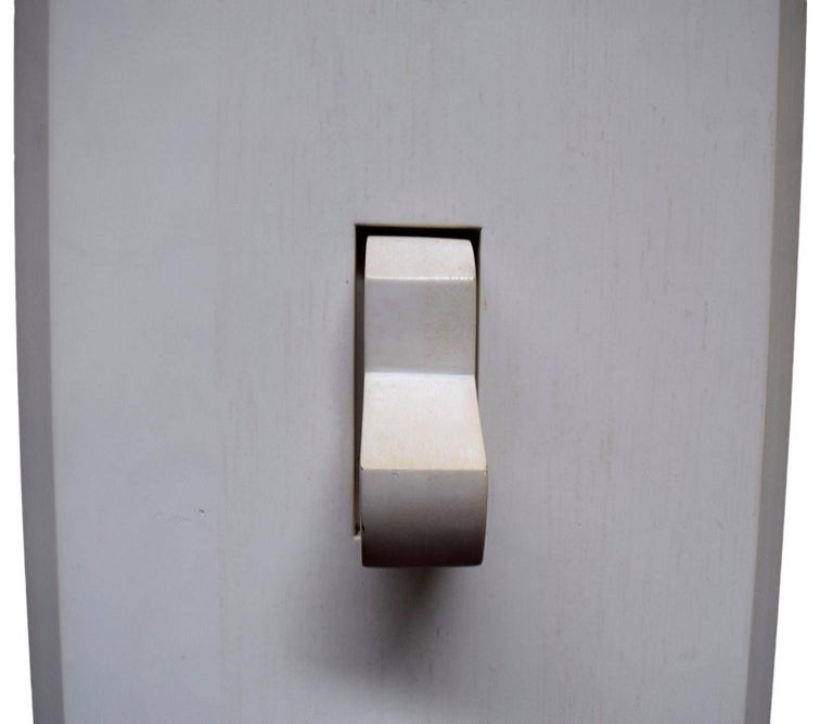 Monumental Handmade Wood Pop Art Light Switch For Sale at 1stdibs