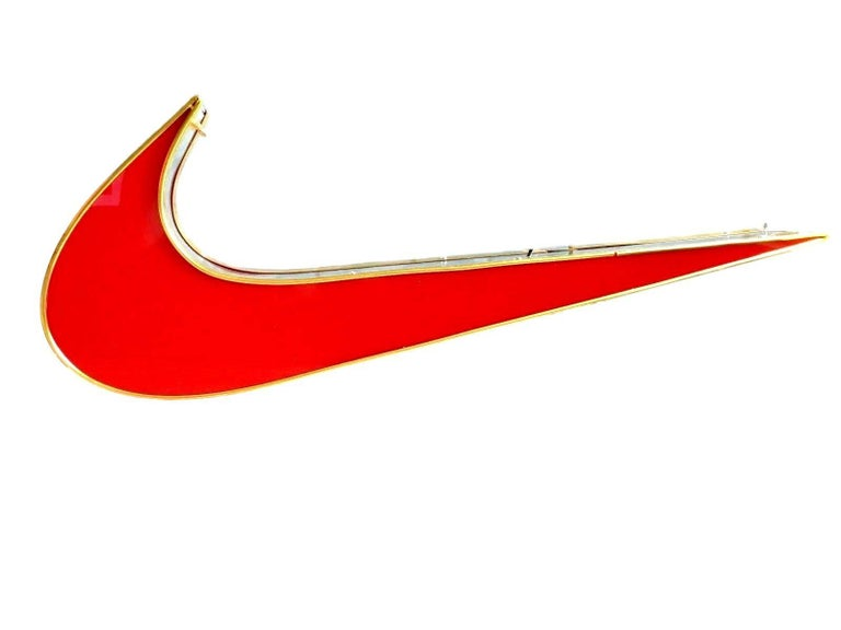 Romanian Light Up Nike Swoosh For Sale