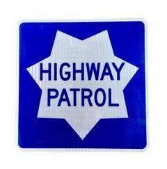 California Highway Patrol Sign