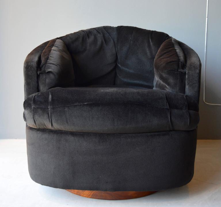 Milo Baughman Swivel Club Chairs For Sale At 1stdibs
