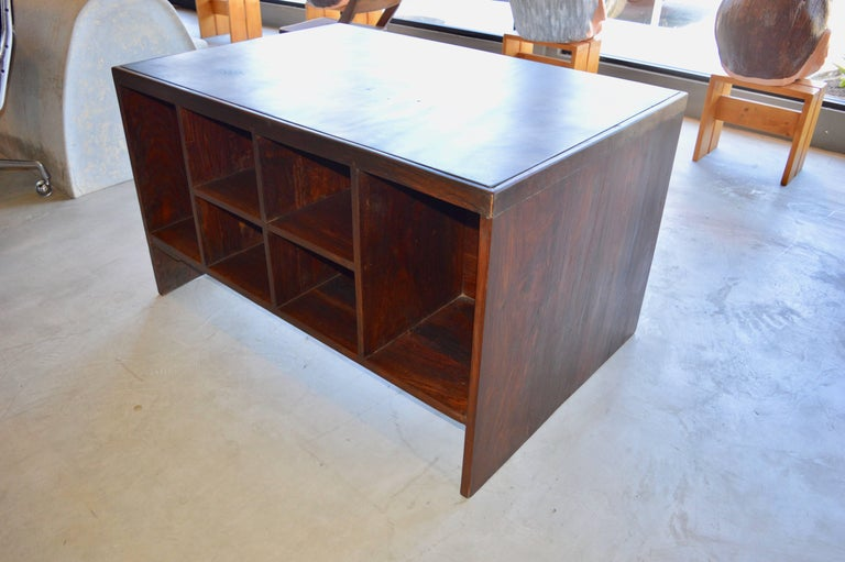 Pierre Jeanneret Desk  In Excellent Condition For Sale In Los Angeles, CA
