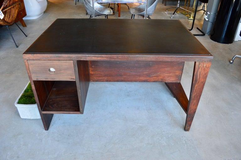 Indian Pierre Jeanneret Desk  For Sale