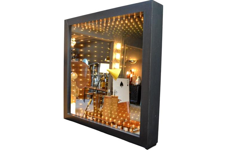 Monumental Infinity Mirror At 1stdibs