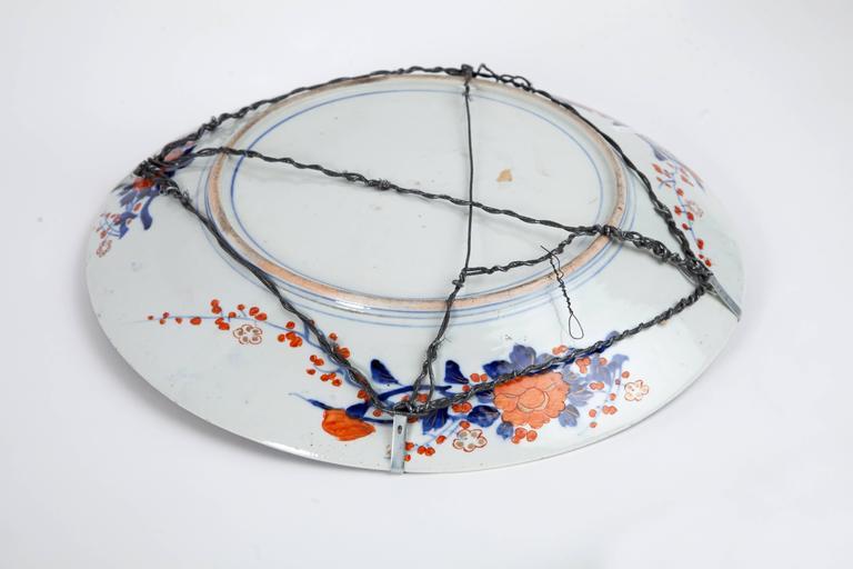 Large 19th century Imari platter.
