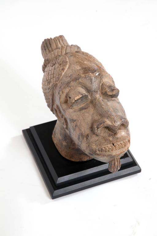 African Carved Stone Bust For Sale At 1stdibs