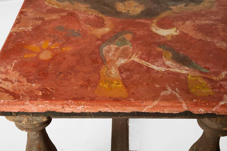 Limestone Pair of 18th Century Italian Chalk Tables For Sale