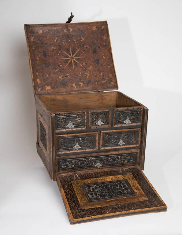 Bolivian 18th Century Spanish Colonial Escritorio For Sale