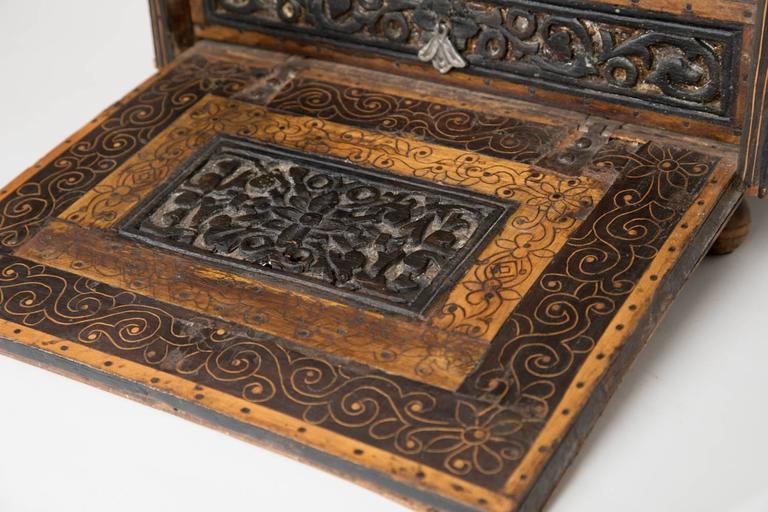 18th Century Spanish Colonial Escritorio In Good Condition For Sale In Scottsdale, AZ