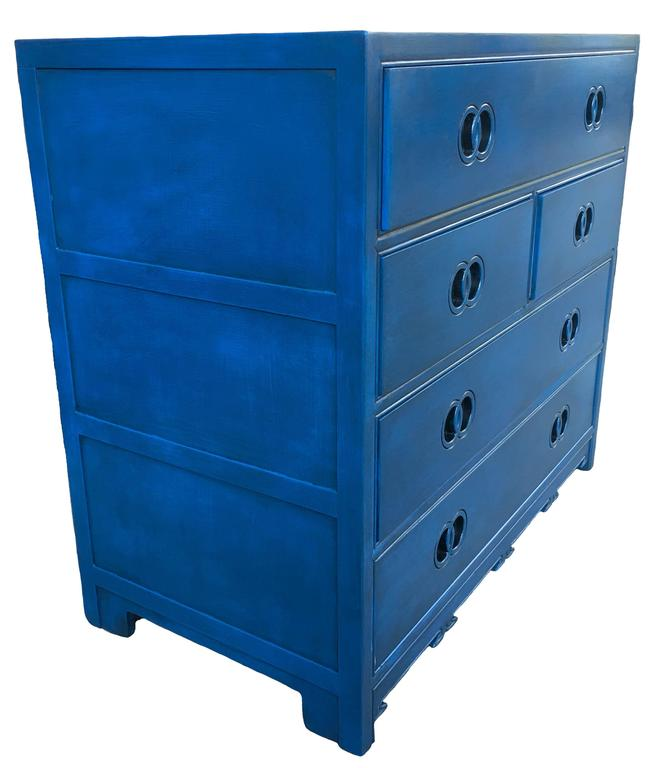 Single Chest Of Drawers From The Michael Taylor Far East Collection For  Baker Furniture. Newly
