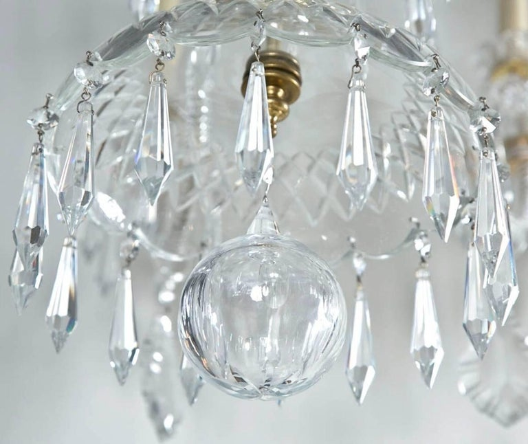 Large Swarovski Crystal Chandelier