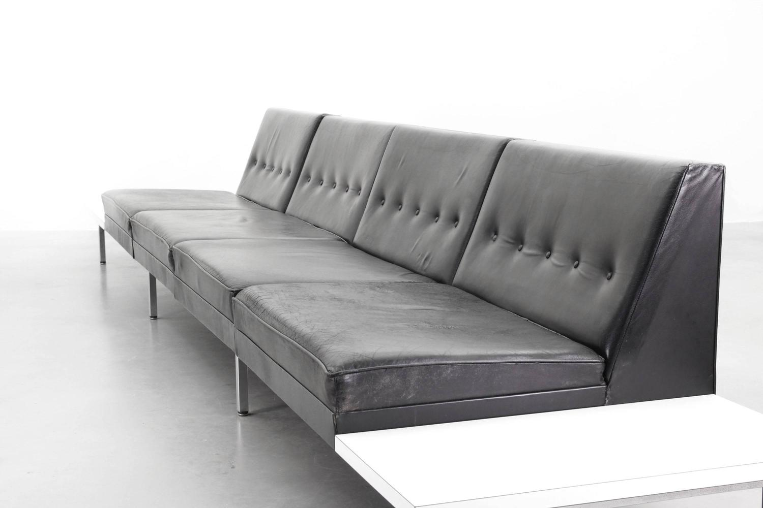 modular system sofas by george nelson for herman miller at. Black Bedroom Furniture Sets. Home Design Ideas