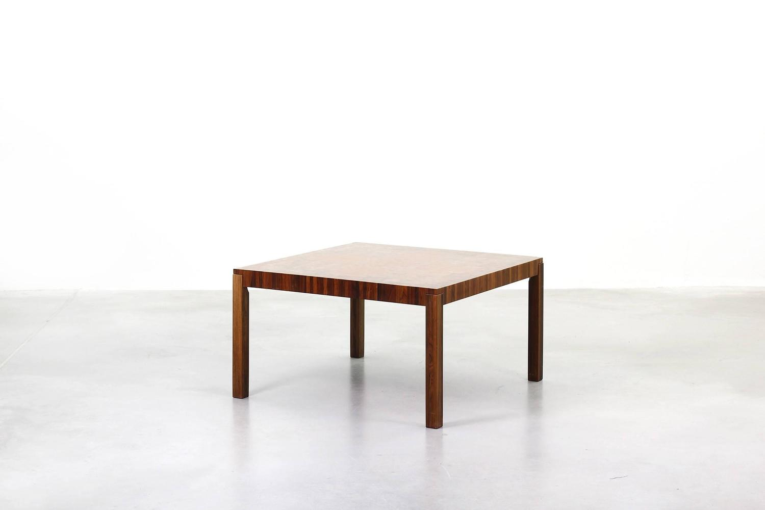 Amazing danish coffee table by poul cadovius rosewood at for Amazing coffee tables