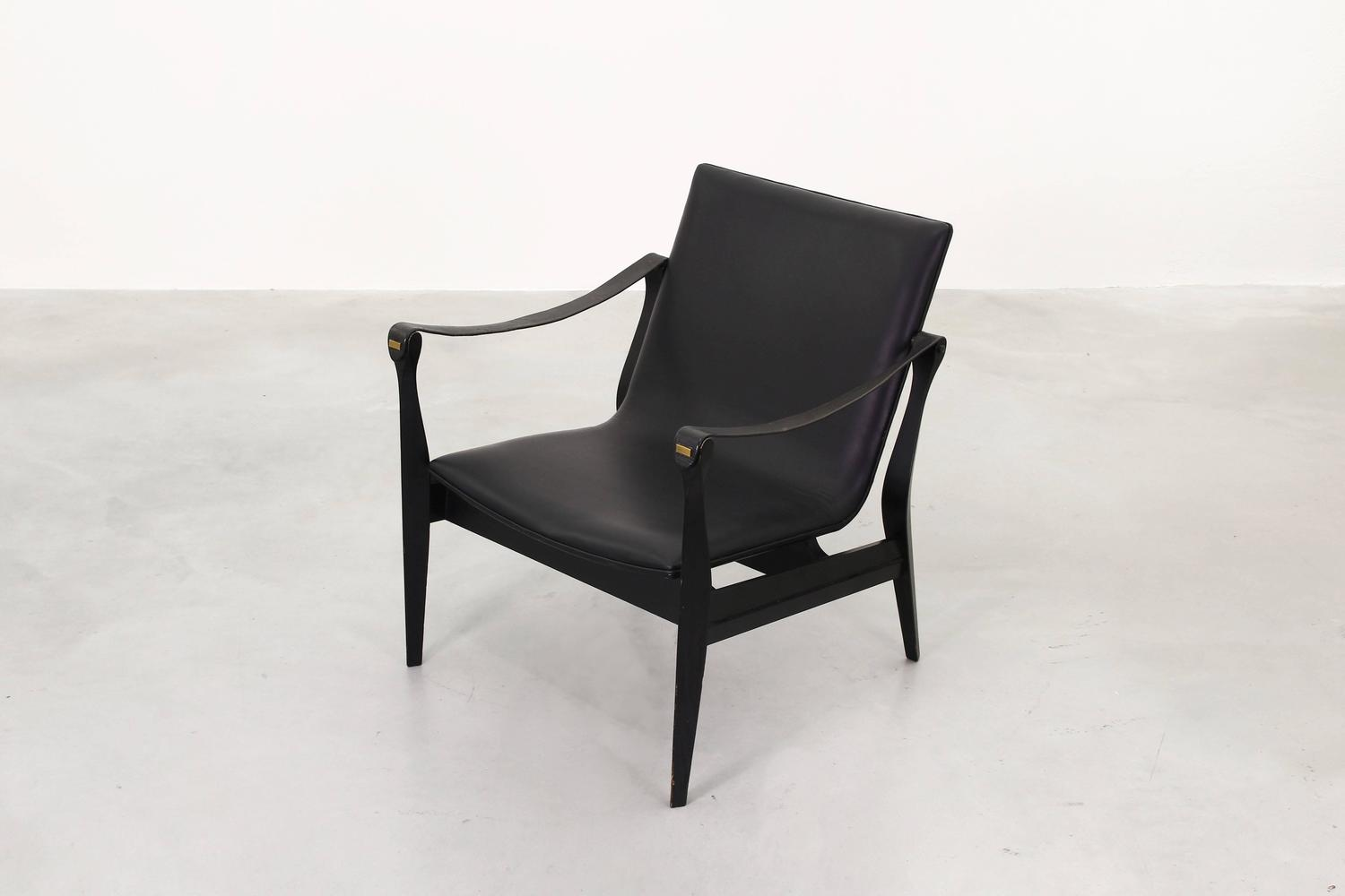 Safari lounge chair by ebbe and karen clemmensen for fritz for Lounge chair kopie