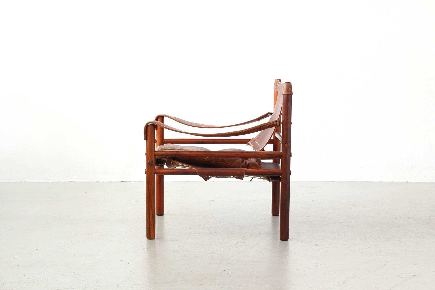 Safari Lounge Chair Sirocco by Arne Norell for Norell Møbel AB at 1stdibs