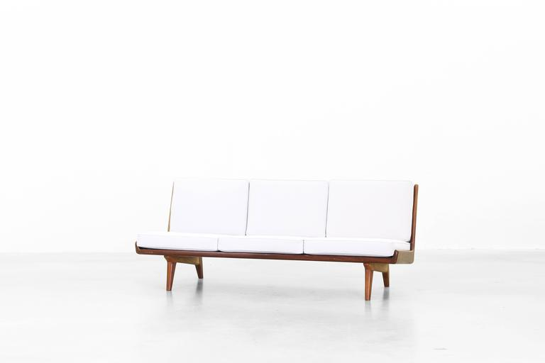 Swedish Beautiful Sofa by Carl Gustaf Hiort Af Ornäs, Sweden, 1950 For Sale